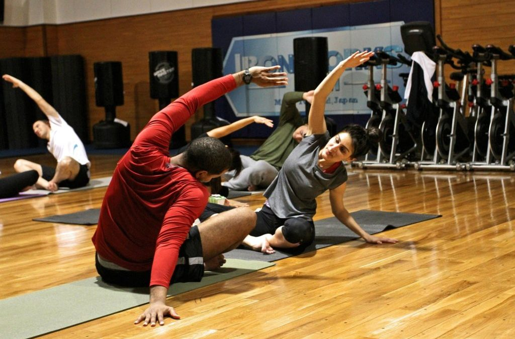 Stretching – both before and after exercise
